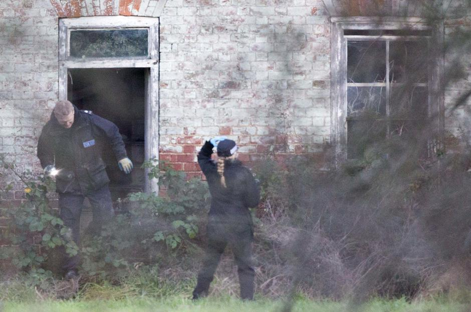 Police search Tony Martin's property after he is arrested on suspicion of firearms offences, Emneth, Norfolk, Britain - 31 Dec 2015 | Autor: Profimedia