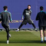 Champions League - Barcelona Training