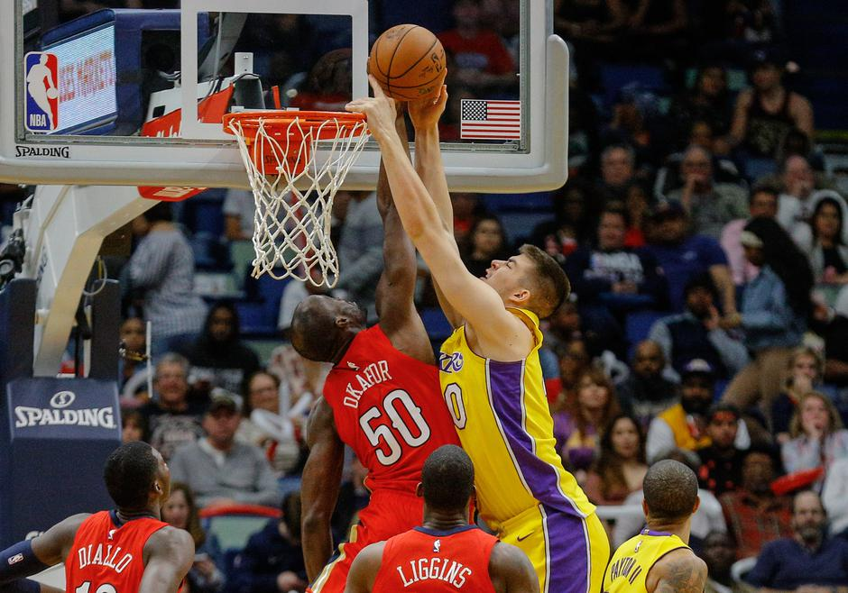 NBA: Los Angeles Lakers at New Orleans Pelicans | Autor: Derick E. Hingle