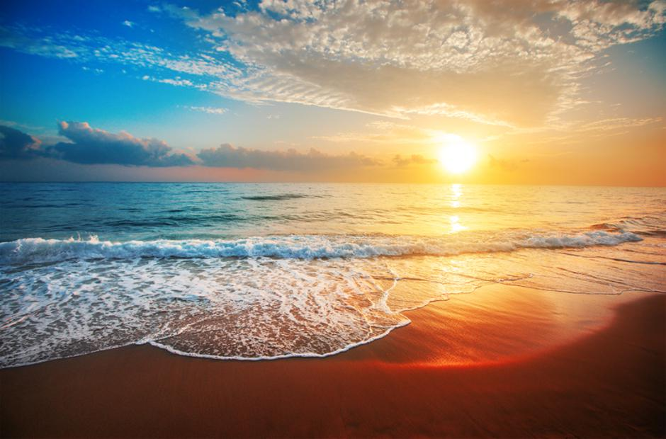 sunset and sea | Autor: Dreamstime