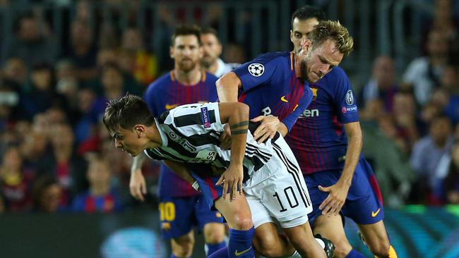 Champions League - FC Barcelona vs Juventus