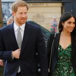 Britain's Prince Harry and Meghan Markle arrive to attend a reception celebrating the forthcoming Invictus Games Sydney 2018, hosted by Malcolm Turnbull, Prime Minister of Australia, and his wife Lucy Turnbull, at Australia House in London