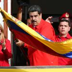 Venezuela's President Nicolas Maduro attends a rally in support of his government and to commemorate the 61st anniversary of the end of the dictatorship of Marcos Perez Jimenez in Caracas