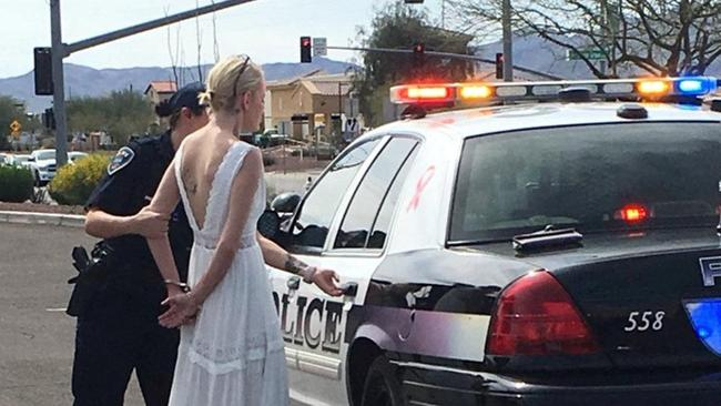 Police officer arrests bride-to-be for driving while impaired to her wedding in Marana