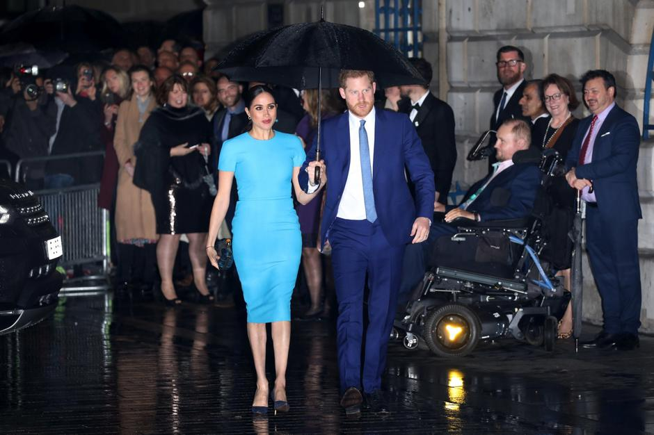 Prince Harry, Duke of Sussex, and Meghan Markle, Duchess of Sussex, attend Endeavour Fund Awards, Mansion House, London, UK, on March 5, 2020. | Autor: Vantagenews.com/PIXSELL/PIXSELL