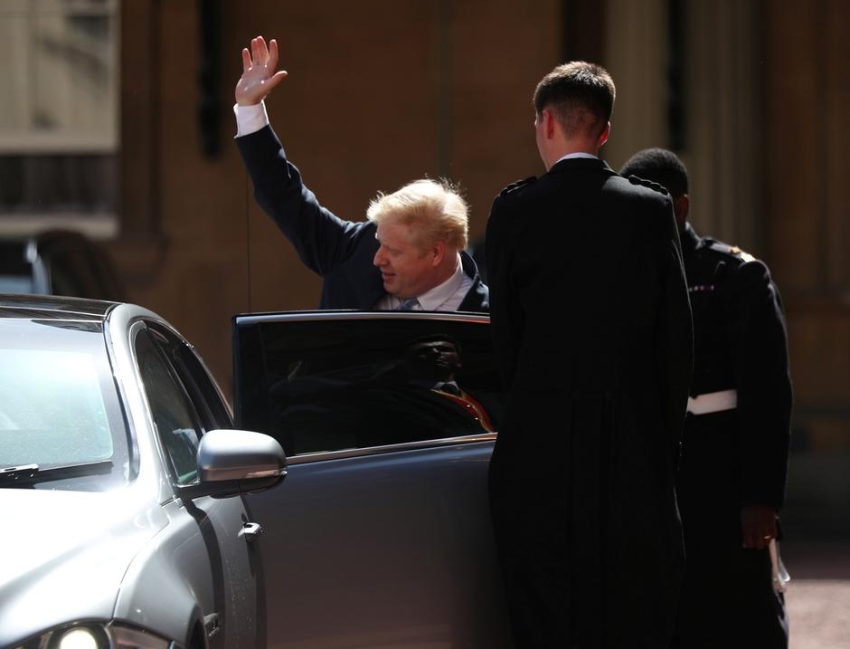 Boris Johnson leaves Buckingham Palace in London, following an audience with Queen Elizabeth II, where he was officially recognised as the new Prime Minister | Autor: pool/REUTERS/PIXSELL/REUTERS/PIXSELL