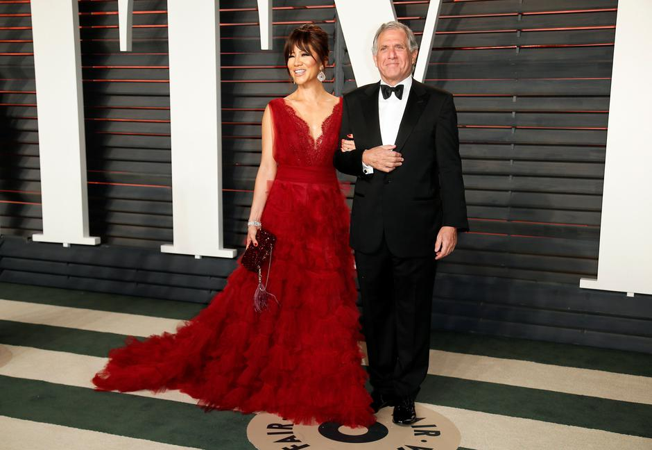 FILE PHOTO: Les Moonves and his wife, Julie Chen, arrive at the Vanity Fair Oscar Party in Beverly Hills | Autor: DANNY MOLOSHOK/REUTERS/PIXSELL/REUTERS/PIXSELL