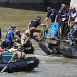 Tourist boat accident in Budapest