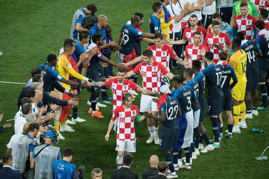 FIFA World Cup 2018 / Final / France - Croatia 4: 2. | Autor: Elmar Kremser/DPA/PIXSELL