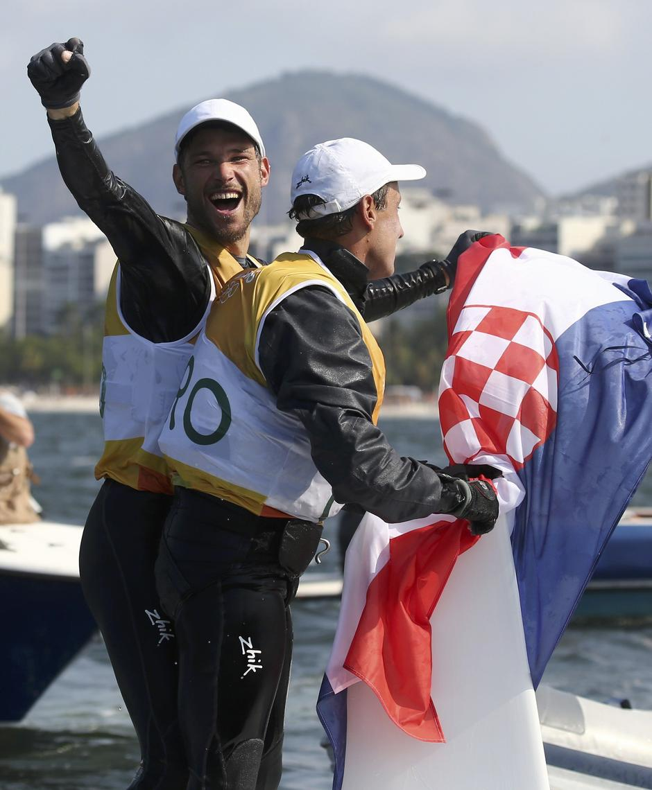 Sailing - Men's Two Person Dinghy - 470 - Medal Race | Autor: BENOIT TESSIER/REUTERS/PIXSELL/REUTERS/PIXSELL