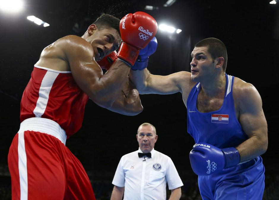 Boxing - Men's Super Heavy (+91kg) Semifinals Bout 262 | Autor: PETER CZIBORRA