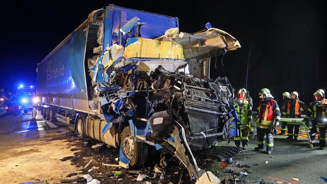 Two dead in truck accident