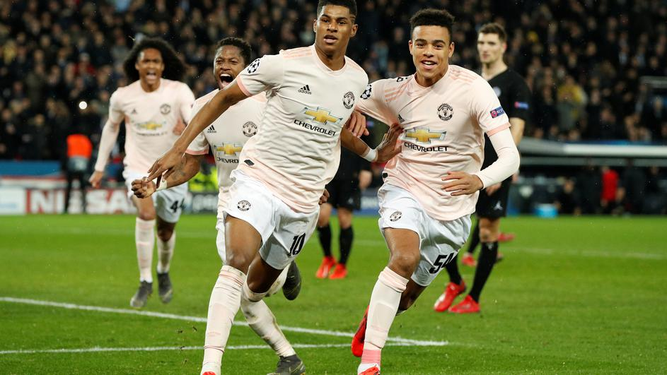 Champions League - Round of 16 Second Leg - Paris St Germain v Manchester United