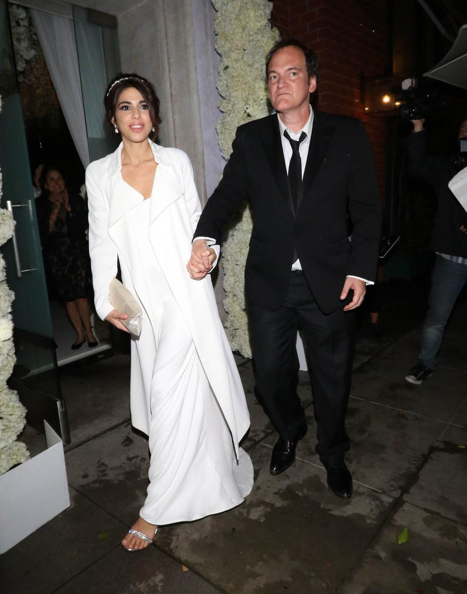 Quentin Tarantino and Daniela Pick Wedding - Los Angeles | Autor: GOTPAP/Press Association/PIXSELL