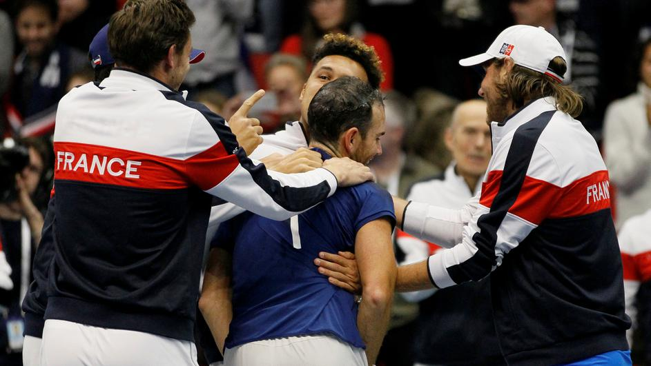 Davis Cup - First Round - France vs Netherlands
