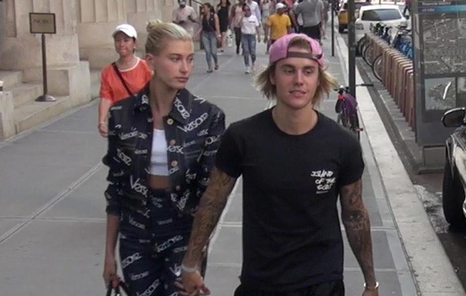 Hailey Baldwin and Justin Bieber sighting - New York | Autor: GOTPAP/Press Association/PIXSELL