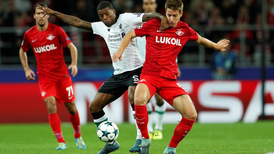 Champions League - Spartak Moscow vs Liverpool