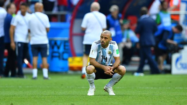 World Cup - Round of 16 - France vs Argentina