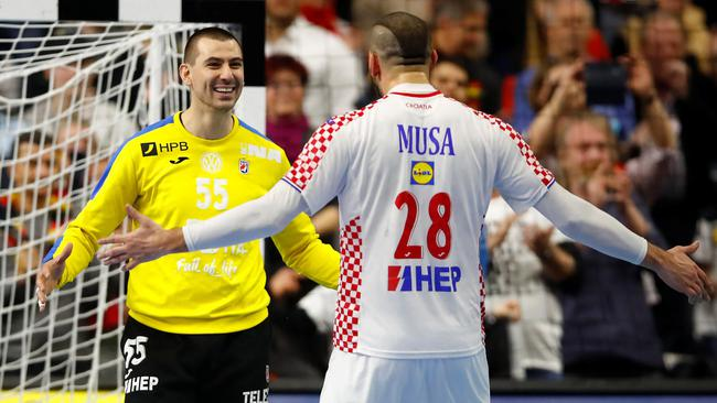 IHF Handball World Championship - Germany & Denmark 2019 - Main Round Group 1 - France v Croatia