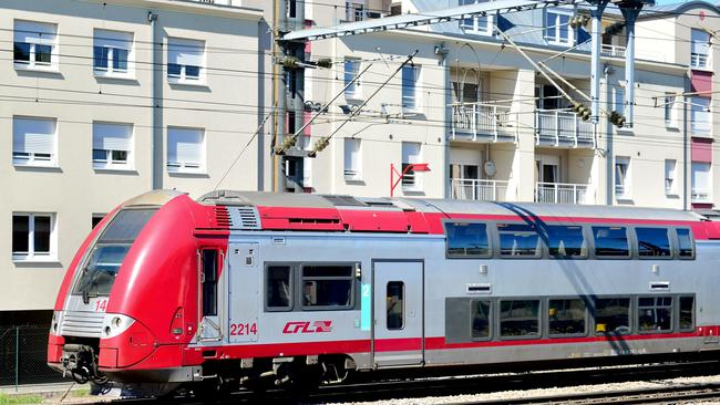 Regional train in Luxemburg