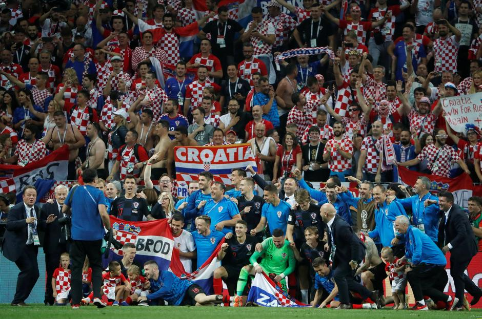 World Cup - Semi Final -  Croatia v England | Autor: GRIGORY DUKOR