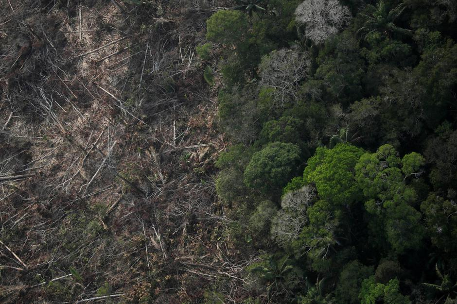 An aerial view of a deforested plot of the Amazon near Porto Velho | Autor: UESLEI MARCELINO/REUTERS/PIXSELL/REUTERS/PIXSELL
