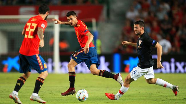 Spain v Croatia - UEFA Nations League - League A - Group Four - Estadio Manuel Martinez Valero
