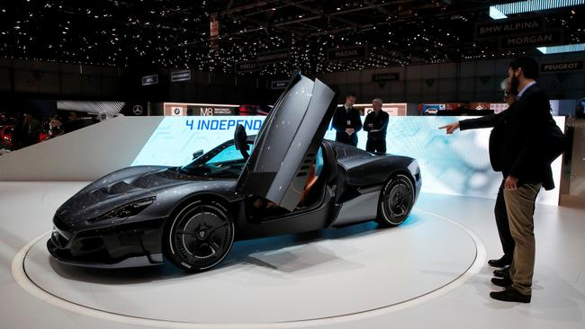The 88th Geneva International Motor Show