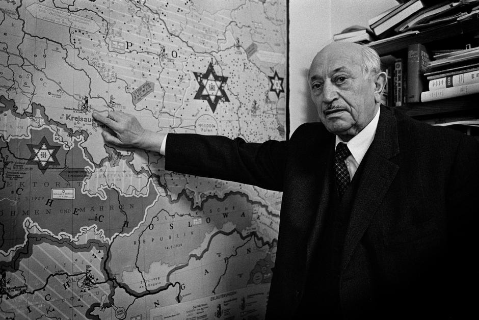 Famed Nazi hunter Simon Wiesenthal, dead at 96 | Autor: Profimedia