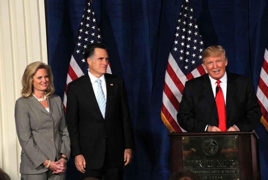 Mitt Romney and Donald Trump | Autor: AJM/Press Association/PIXSELL