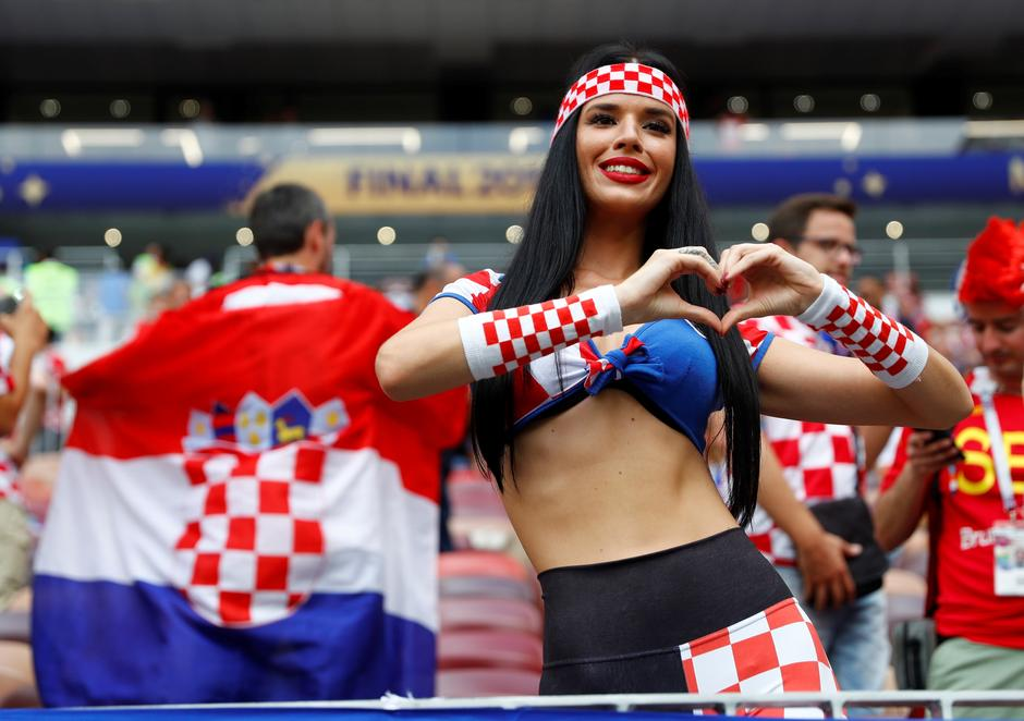 World Cup - Final - France v Croatia | Autor: KAI PFAFFENBACH