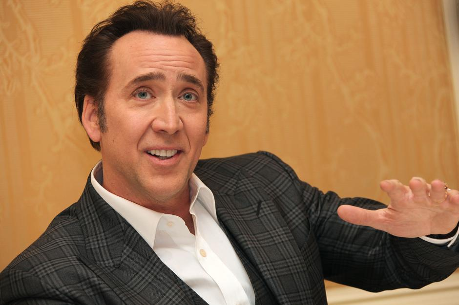 "Nicolas Cage attends ""The Croods"" Junket - New York 