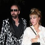 *EXCLUSIVE* Nicolas Cage looks fly after a dinner date with girlfriend Erika Koike