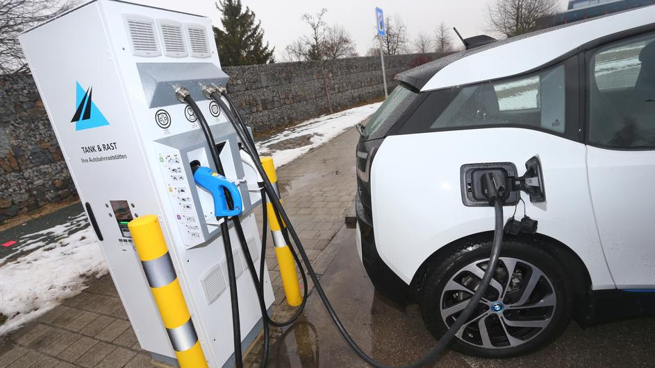 100th charging station for electric cars at motorway inaugurated