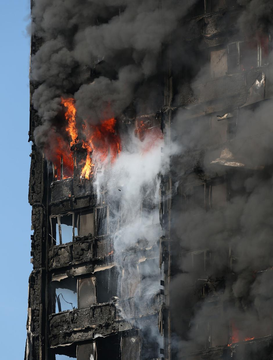 Tower block fire in London | Autor: Jonathan Brady/Press Association/PIXSELL