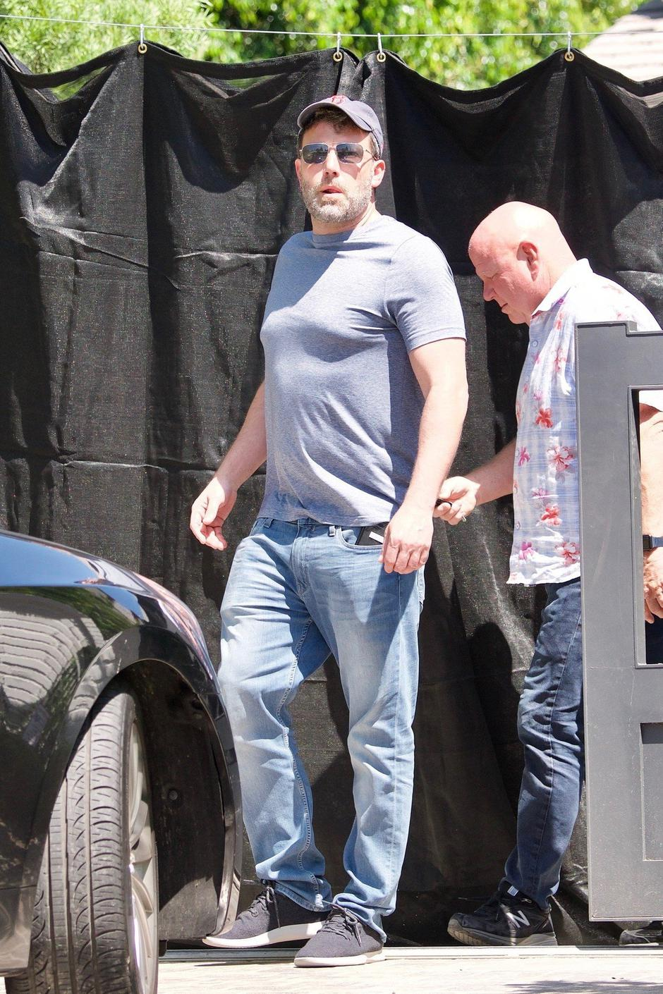 Ben Affleck on Saturday before going back to rehab. | Autor: Profimedia