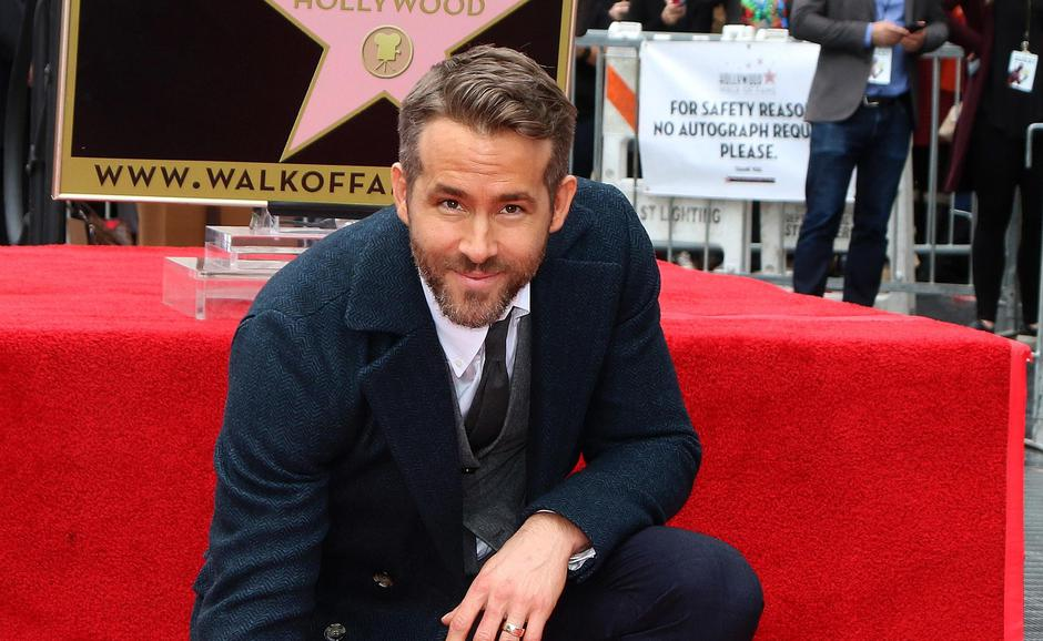 USA - Ryan Reynolds Hollywood Walk of Fame Star Ceremony - Los Angeles | Autor: Kathy Hutchins/IPA/PIXSELL/IPA/PIXSELL