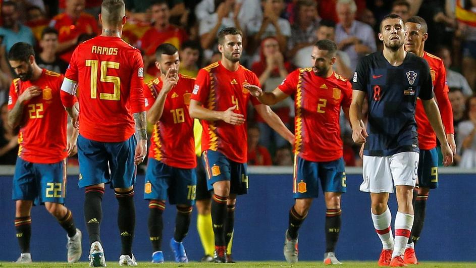 UEFA Nations League - League A - Group 4 - Spain v Croatia