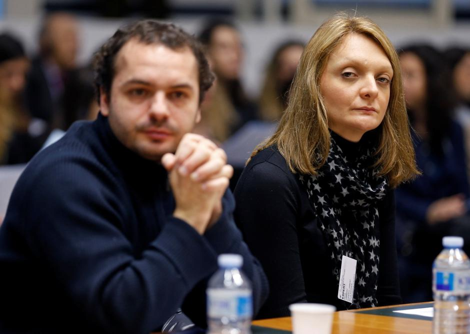 FILE PHOTO: Rachel Lambert, the wife of Vincent Lambert, waits for the start of an hearing concerning the case of her husband at the European Court of Human Rights in Strasbourg | Autor: VINCENT KESSLER/REUTERS/PIXSELL/REUTERS/PIXSELL