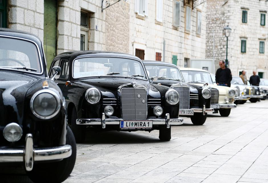 Old-timer Mercedes cars are seen seen in Imotski | Autor: Antonio Bronic/REUTERS/PIXSELL/REUTERS/PIXSELL