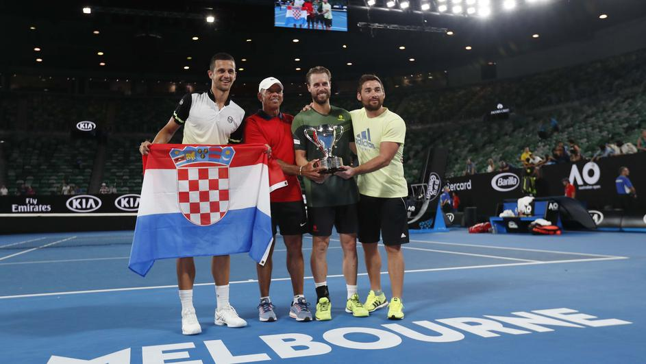 Tennis - Australian Open - Men's Doubles Final - Rod Laver Arena, Melbourne, Australia