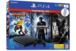 PS4 1TB + Uncharted 4/The Last of Us/Ratchet&Clank