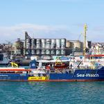 FILE PHOTO: The migrant search and rescue ship Sea Watch 3 arrives at the port of Catania