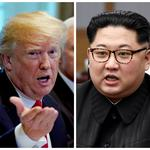 FILE PHOTO: A combination photo shows U.S.  President Donald Trump and North Korean leader Kim Jong Un
