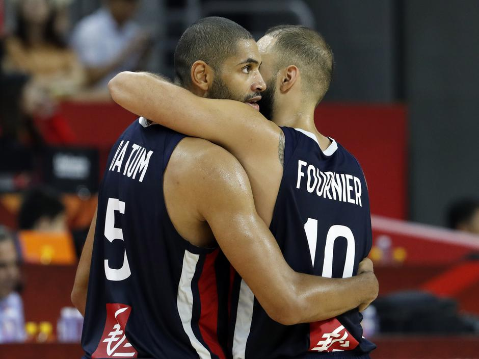 Basketball - FIBA World Cup - Quarter Finals - United States v France | Autor: KIM KYUNG-HOON