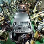 FILE PHOTO - Hyundai Motor's sedans are assembled at a factory of the carmaker in Asan