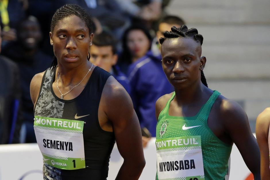 South African athlete Caster Semenya and Burundian Francine Niyonsaba at the start of a 2,000 metres at a small meeting in France | Autor: Philippe Wojazer/REUTERS/PIXSELL/REUTERS/PIXSELL
