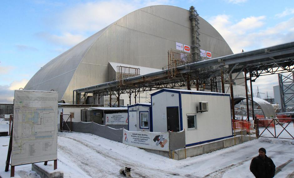 UKRAINE-CHERNOBYL-NUCLEAR REACTOR NO. 4-NEW PROTECTIVE COVER | Autor: Chen Junfeng/XINHUA/PIXSELL