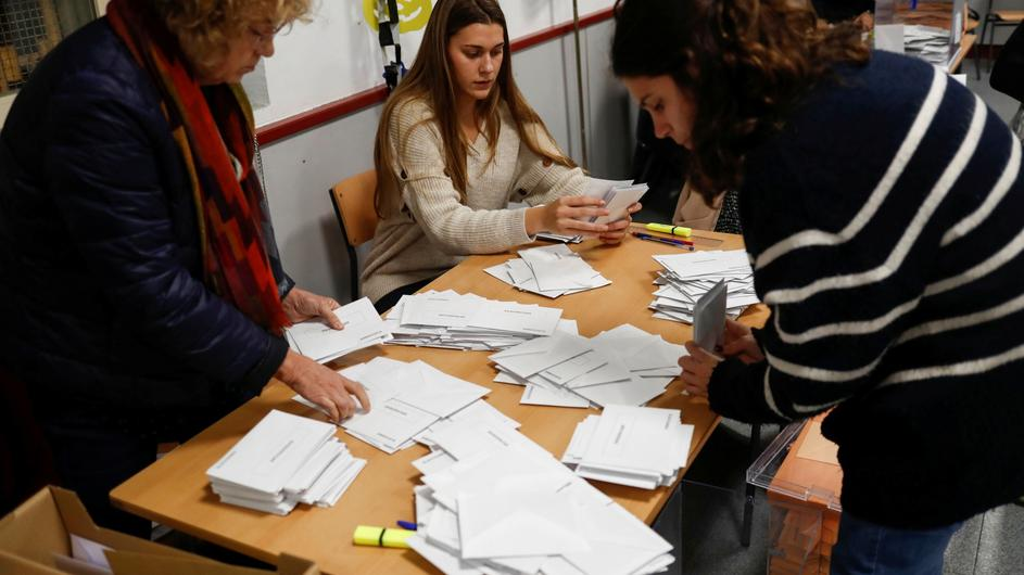 Polls close in Spain's general election