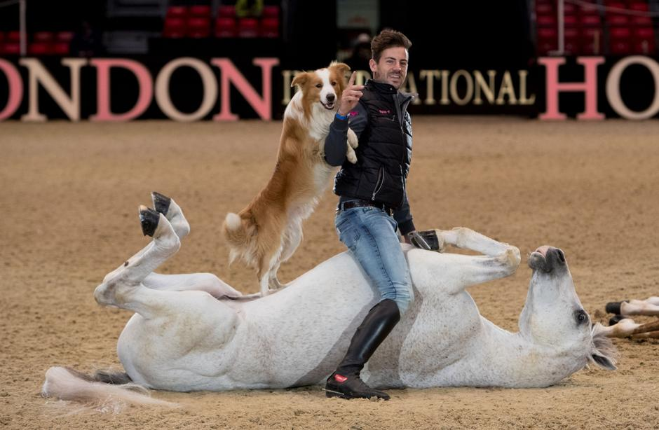 Olympia, The London International Horse Show - London | Autor: Steve Parsons/Press Association/PIXSELL